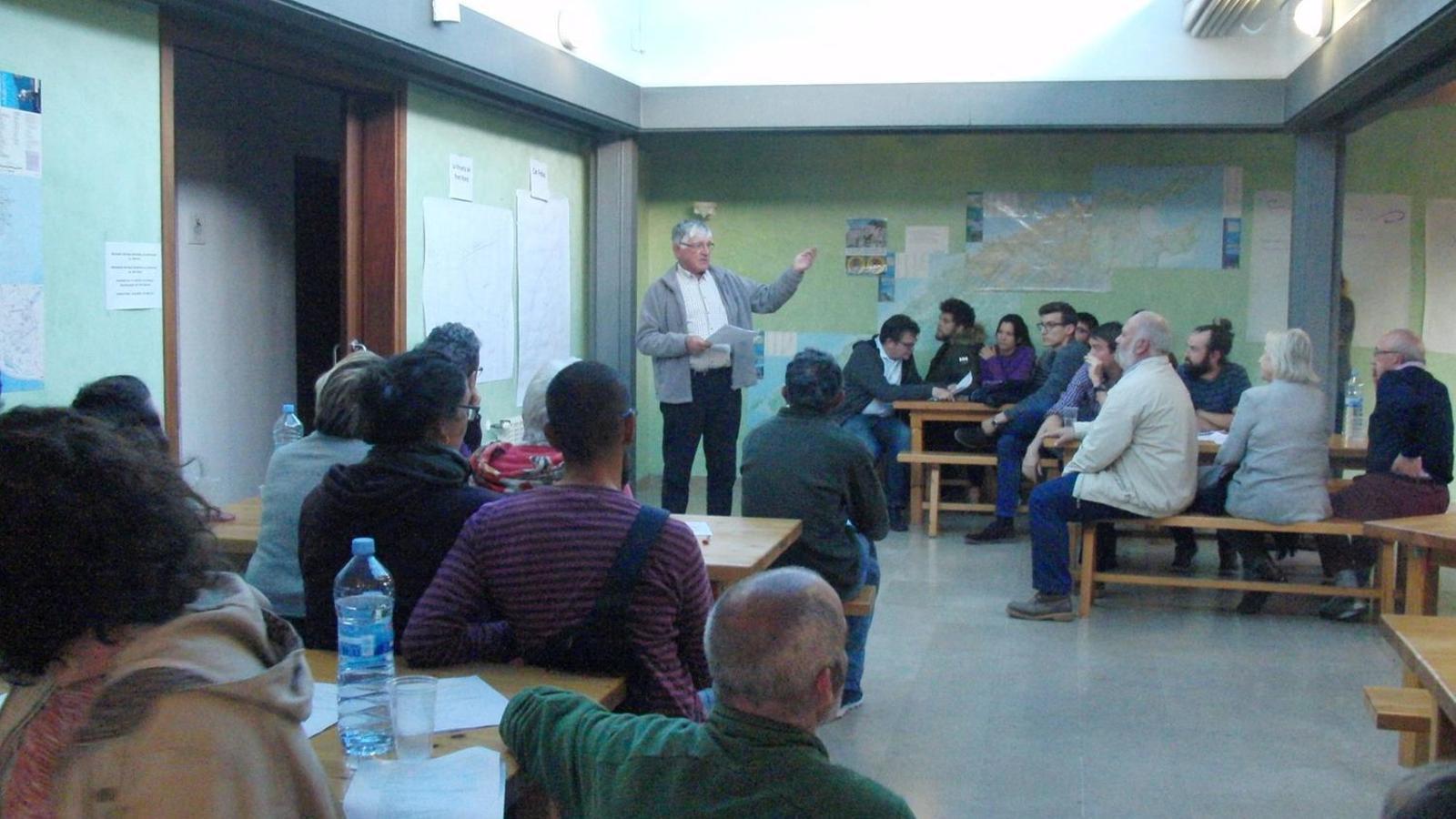 Reunió del procés de participación ciutadana de l'any 2017