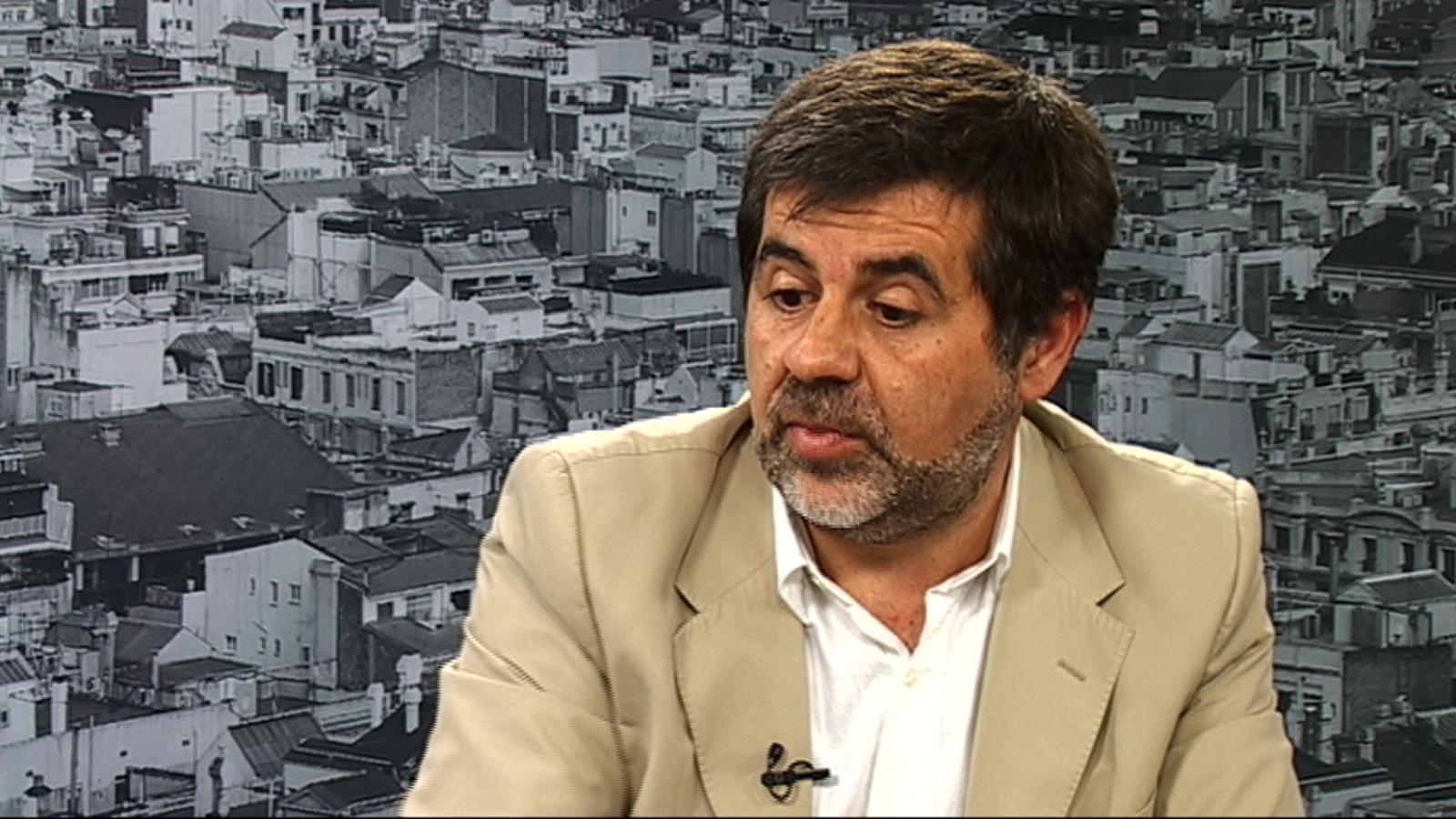 Jordi Sànchez: Cal estudiar les conseqüències de fer una llista sense partits polítics