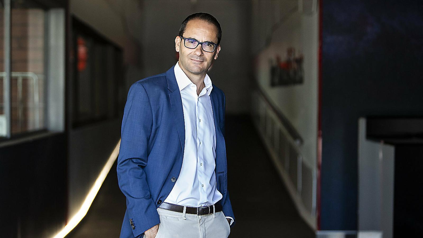 """David Jiménez : """"Les clavegueres no funcionen sense periodistes"""""""