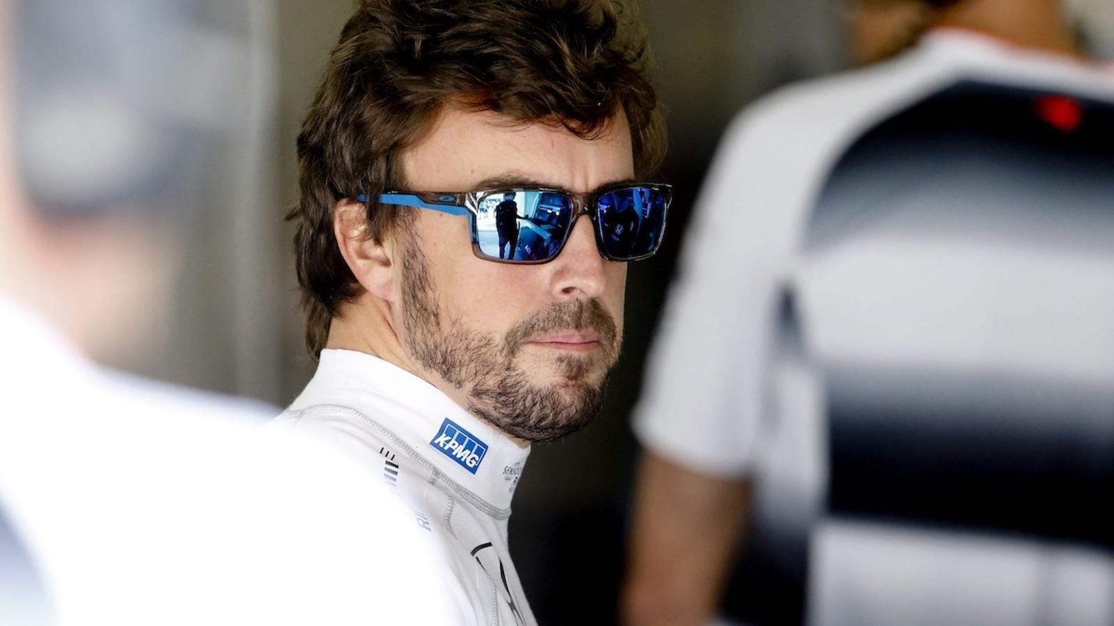 Fernando Alonso, a la Xina