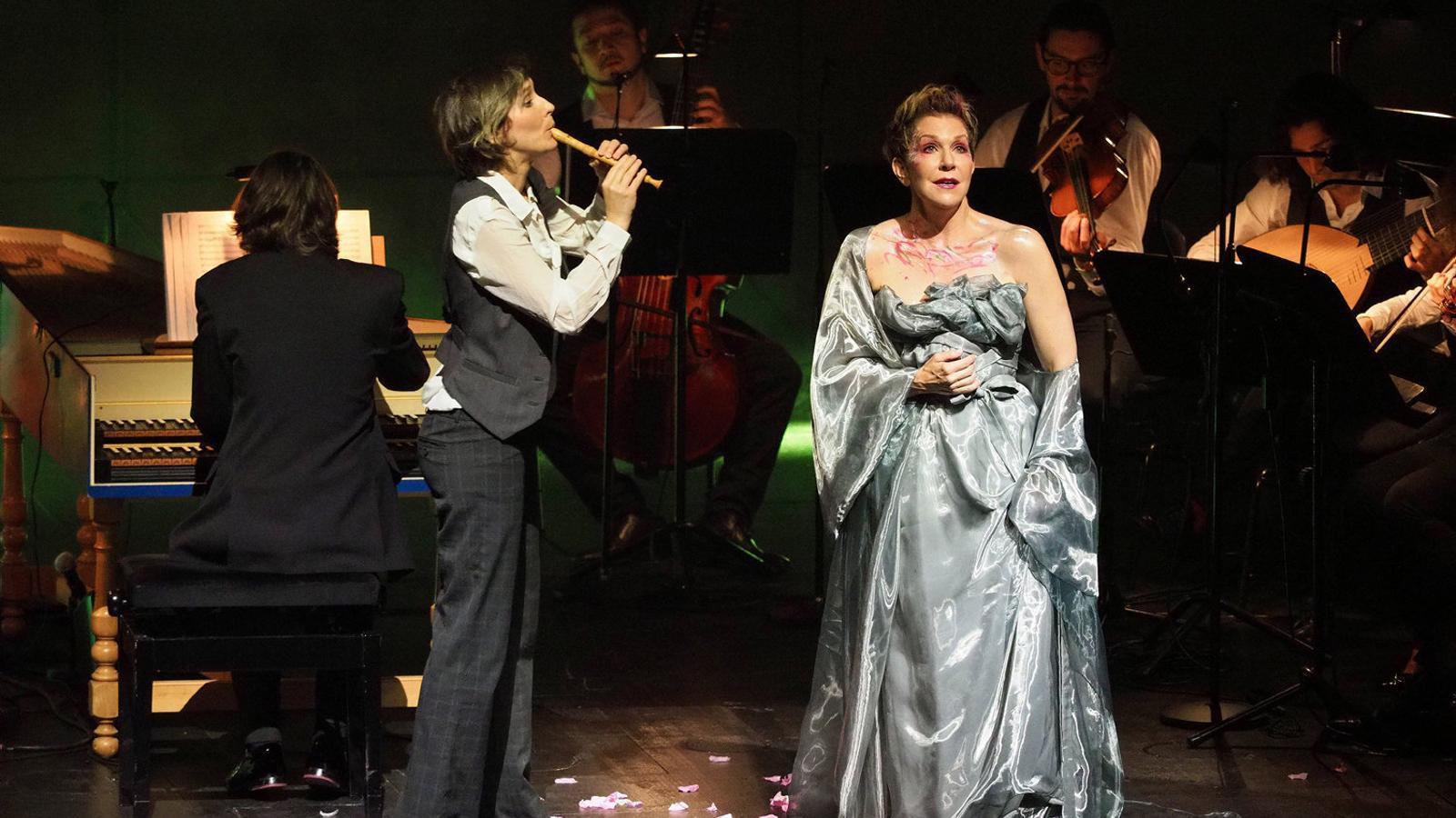 La mezzosoprano Joyce DiDonato al Gran Teatre del Liceu. / A. BOFILL