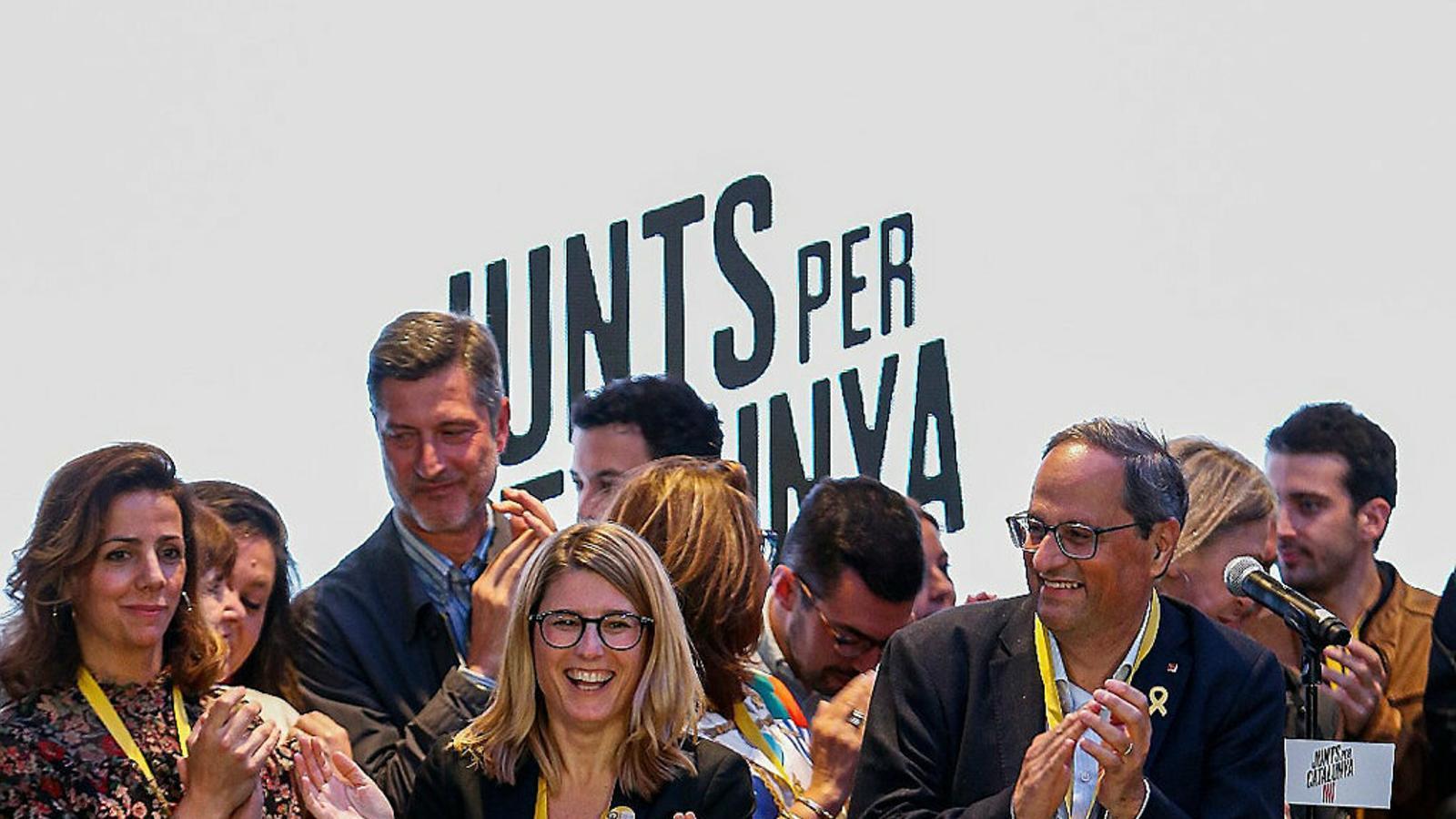La victoria de Puigdemont maquilla la caída de JxCat en las municipales
