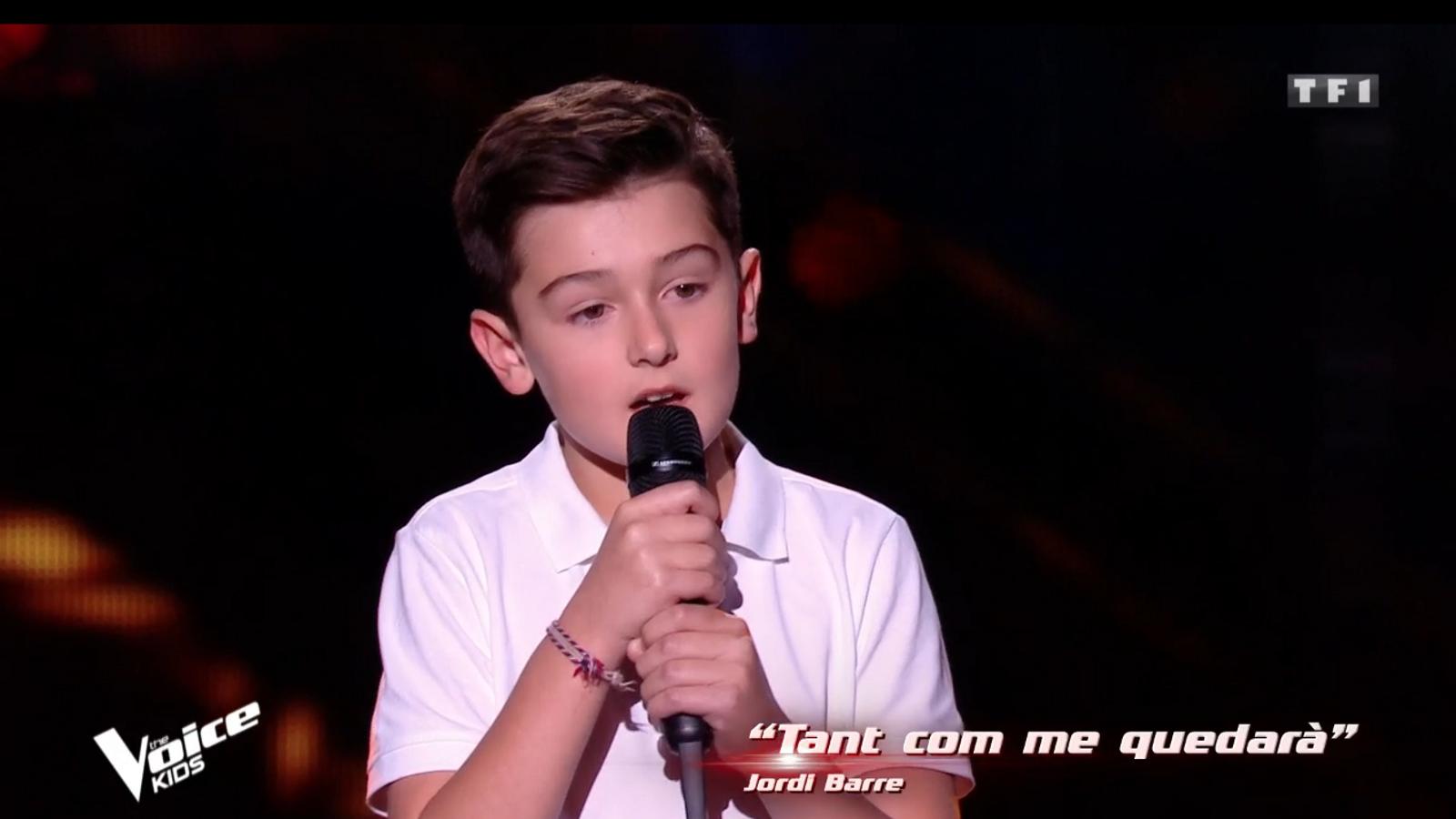 Maxime va sorprendre el jurat cantant una cançó en català