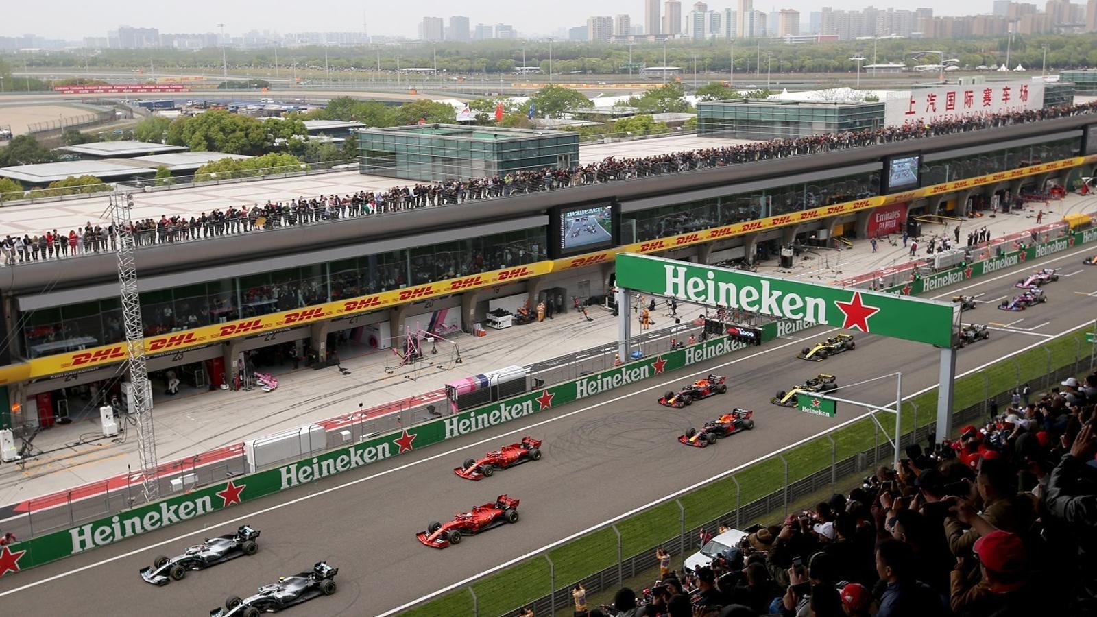 Un instat del GP de la Xina del 2019