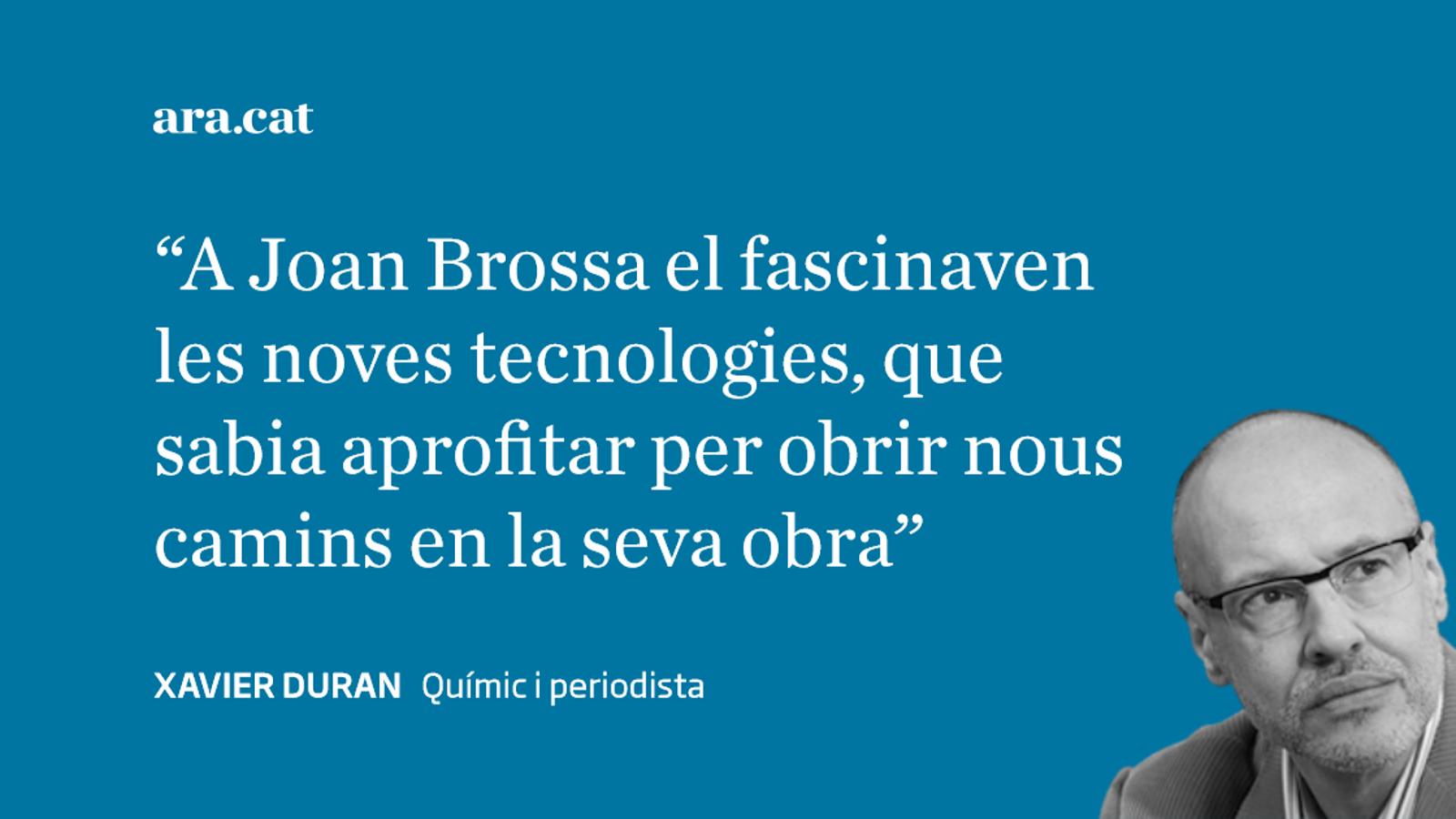 Joan Brossa,  la mussa  i el xip