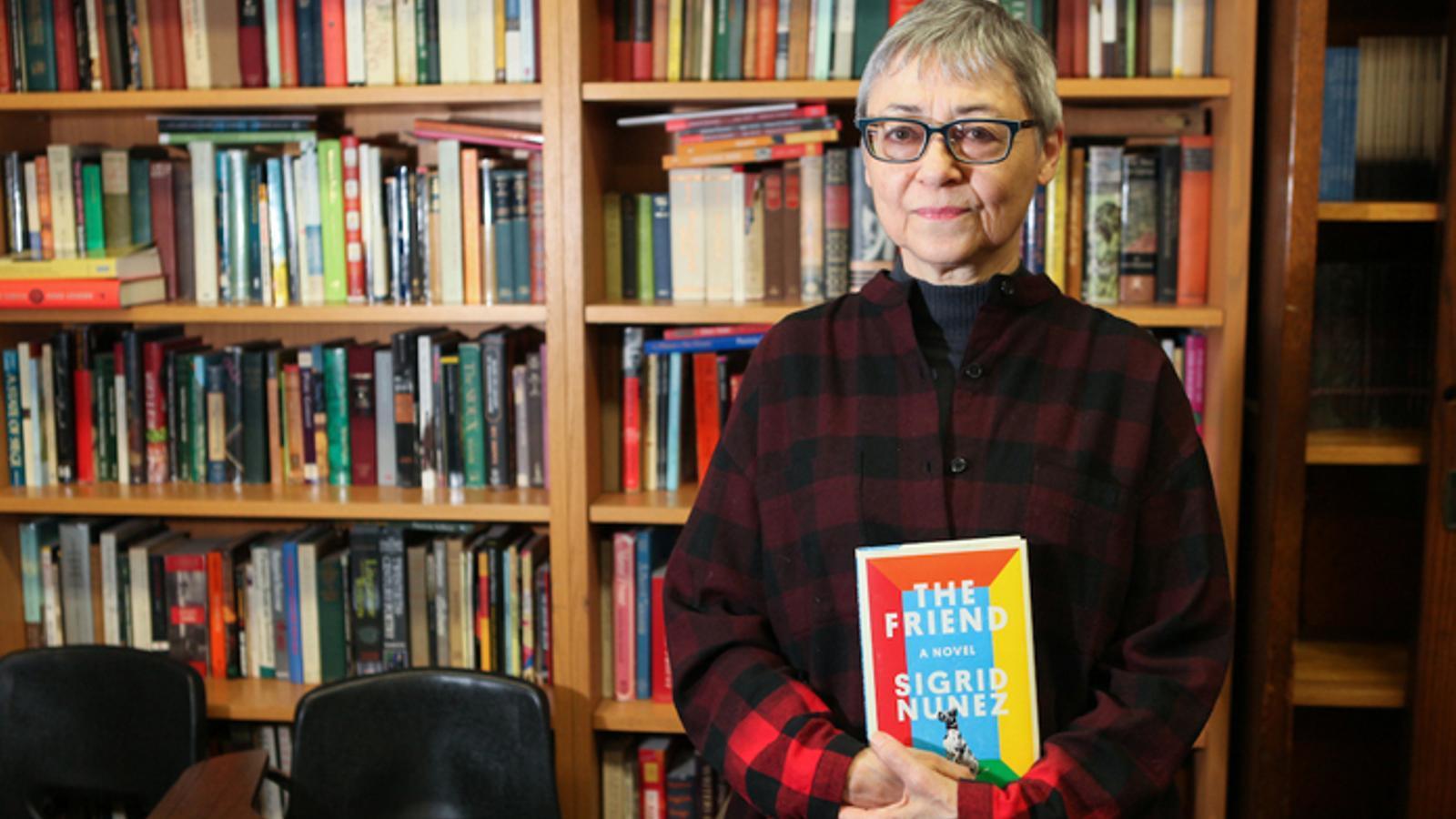 Sigrid Nunez, autora de 'L'amic'
