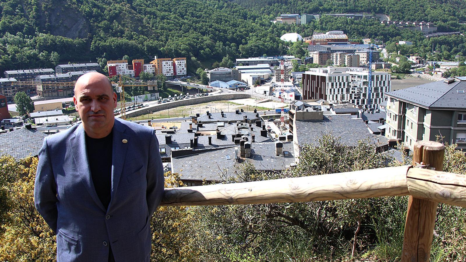 L'expert del sector immobiliari, Jordi Ribó, recentment nomenat vicepresident de Fiabci Internacional. / M. M. (ANA)