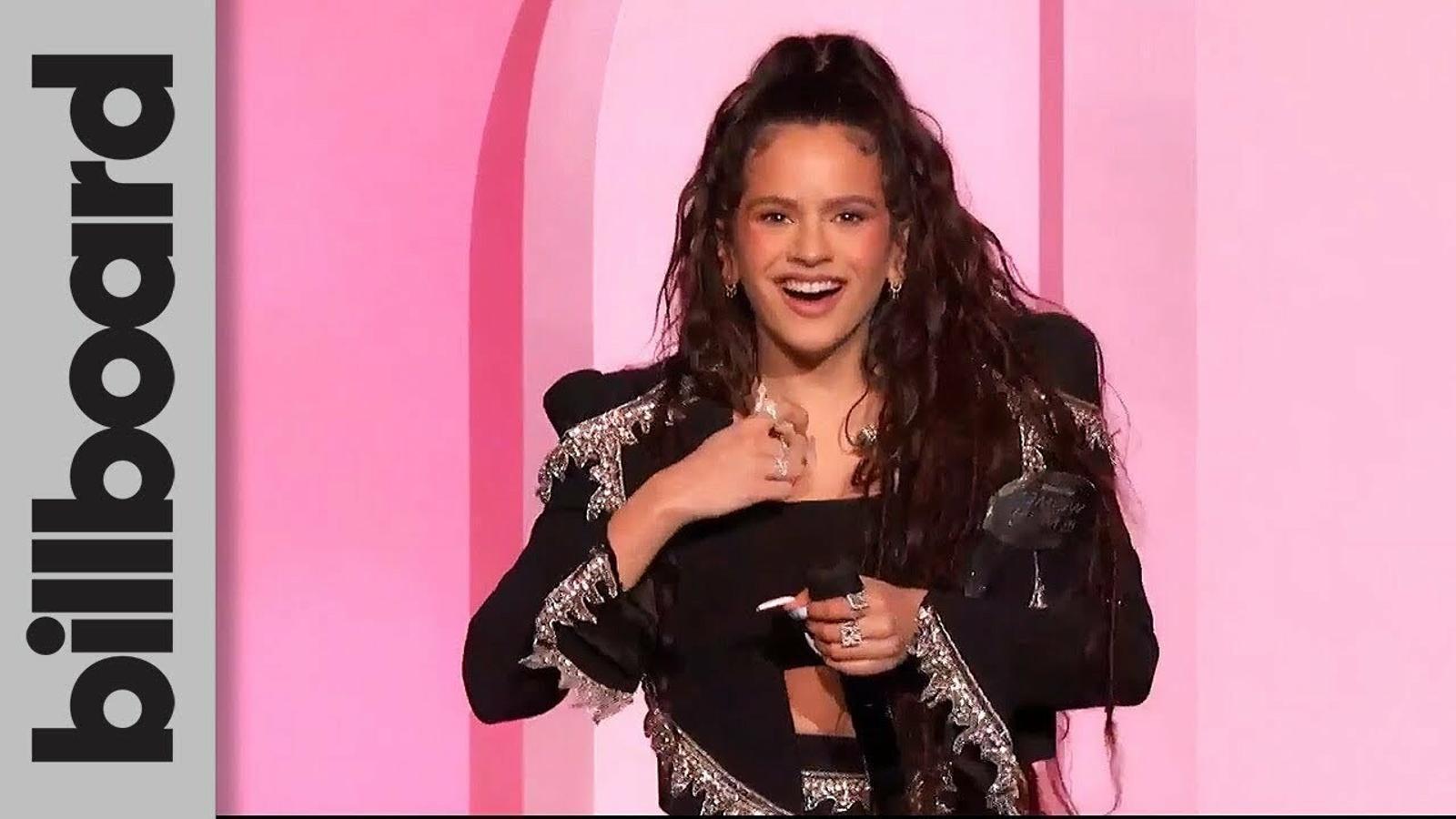 El discurs de Rosalía als Billboard Women in Music