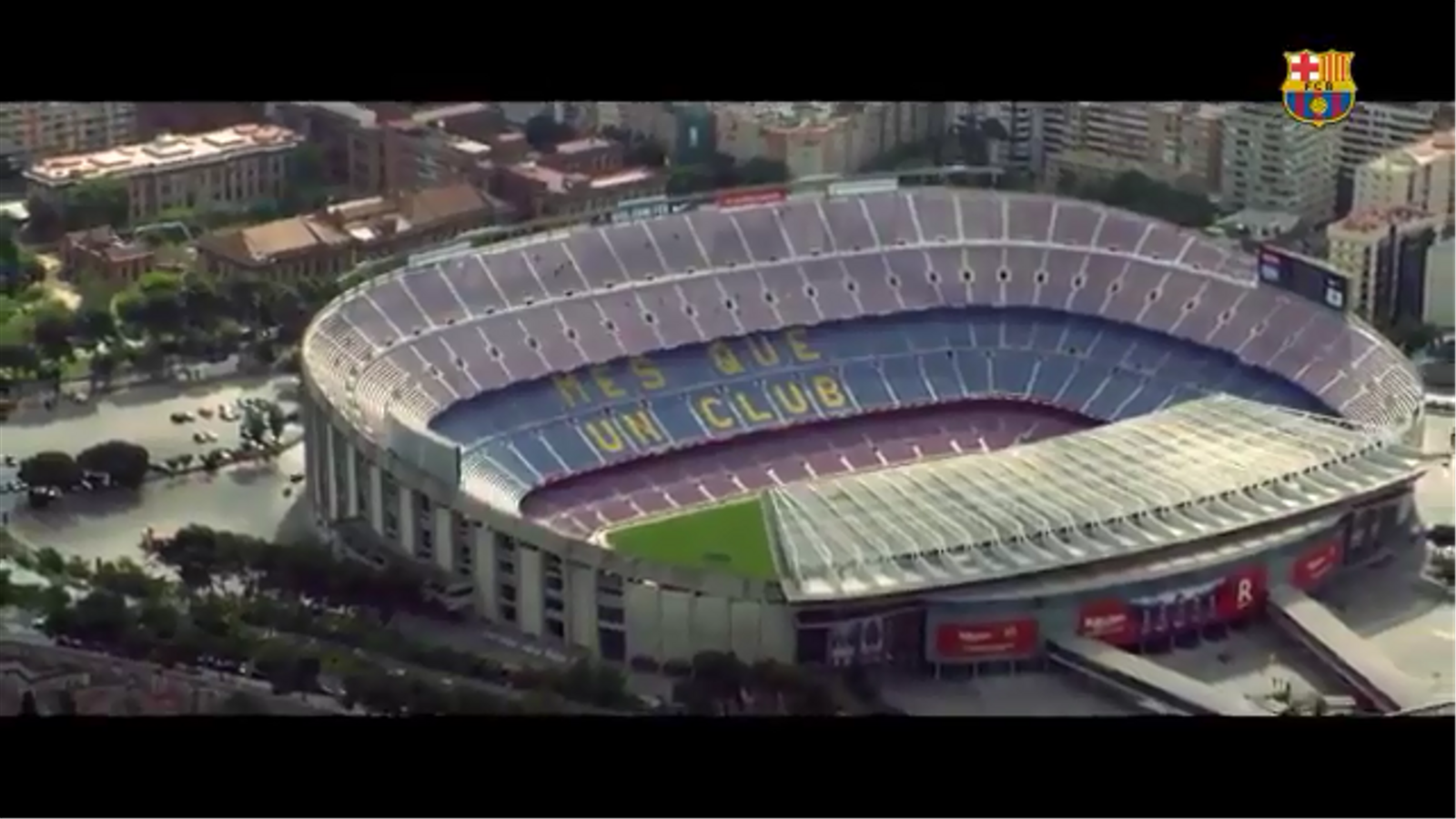 El vídeo del Barça amb l'himne del club