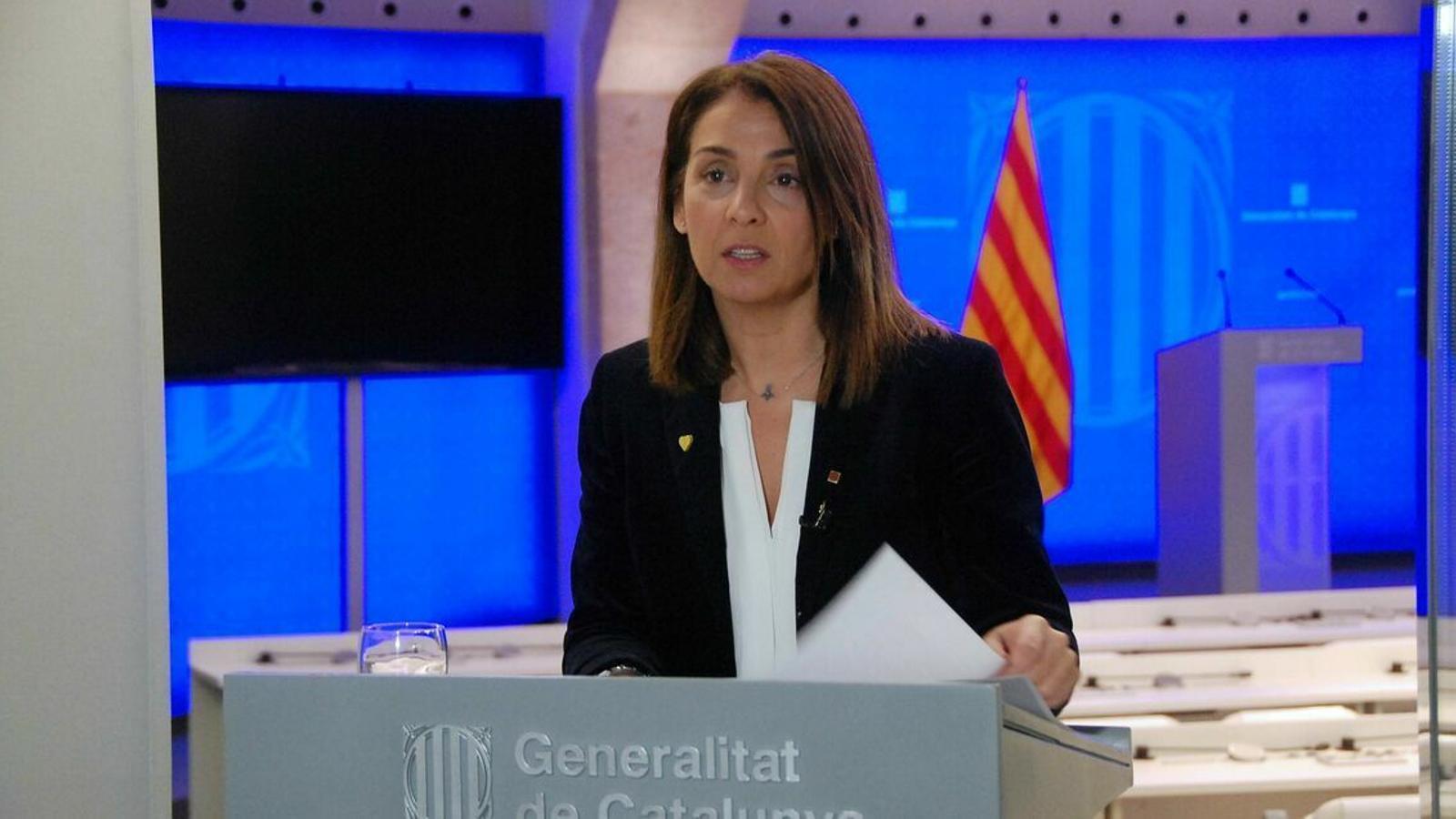 Roda de premsa dels consellers Budó, Buch i Vergés de seguiment del covid-19 a Catalunya