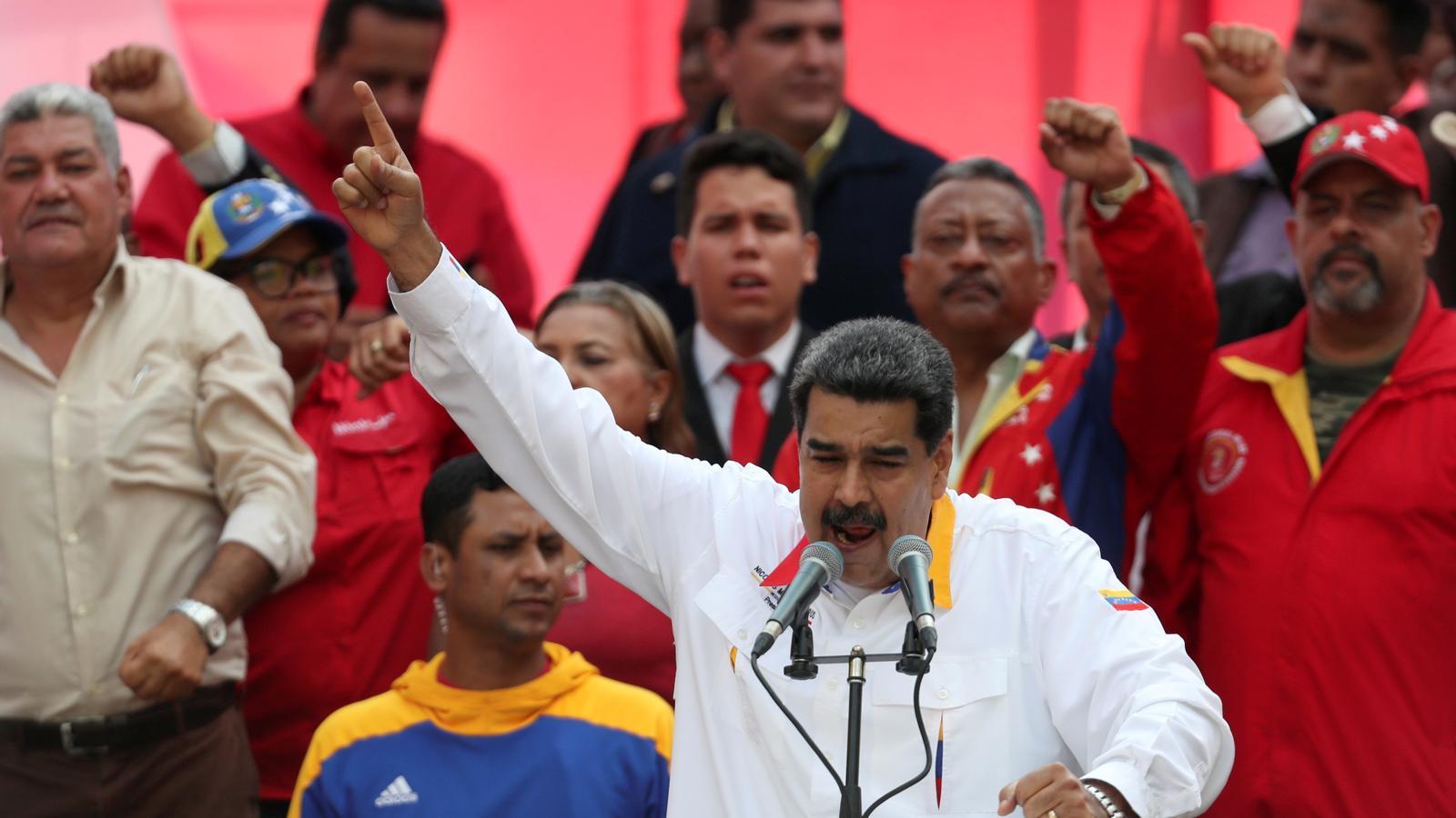 Maduro proposa avançar les eleccions legislatives