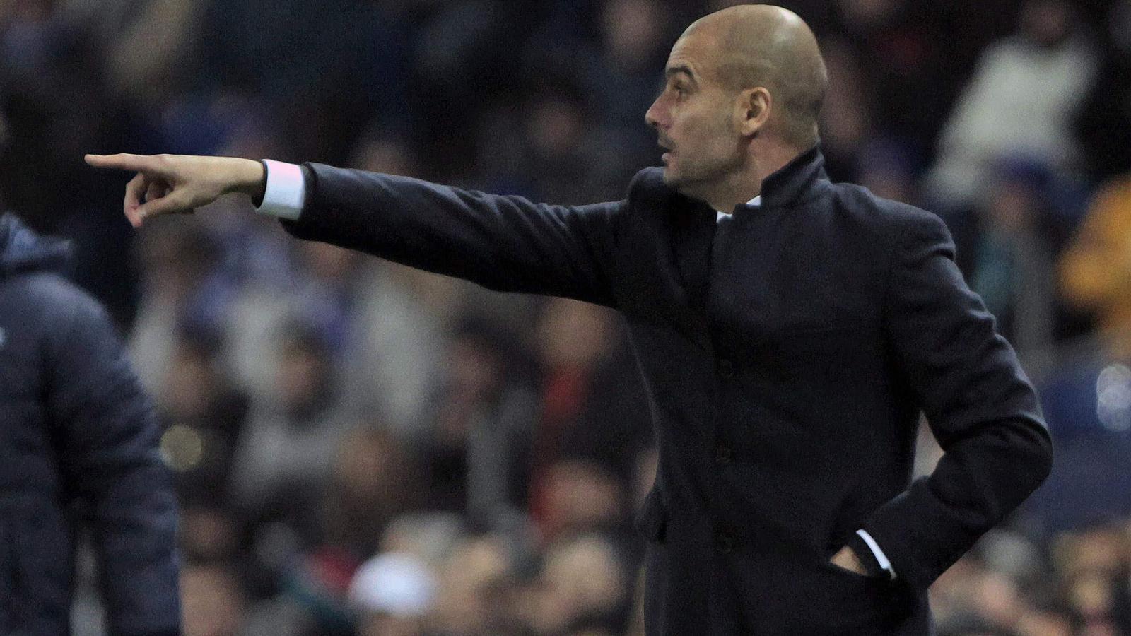 """Guardiola: """"No puc estar descontent amb l'equip"""""""