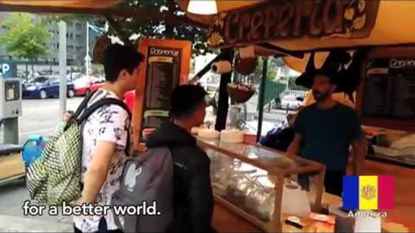 Vídeo de presentació de l'equip andorrà al First Global Challenge