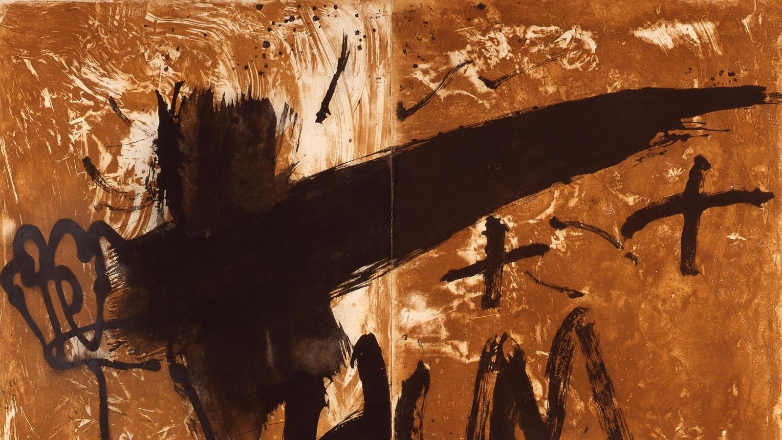 'Daga', d'Antoni Tàpies