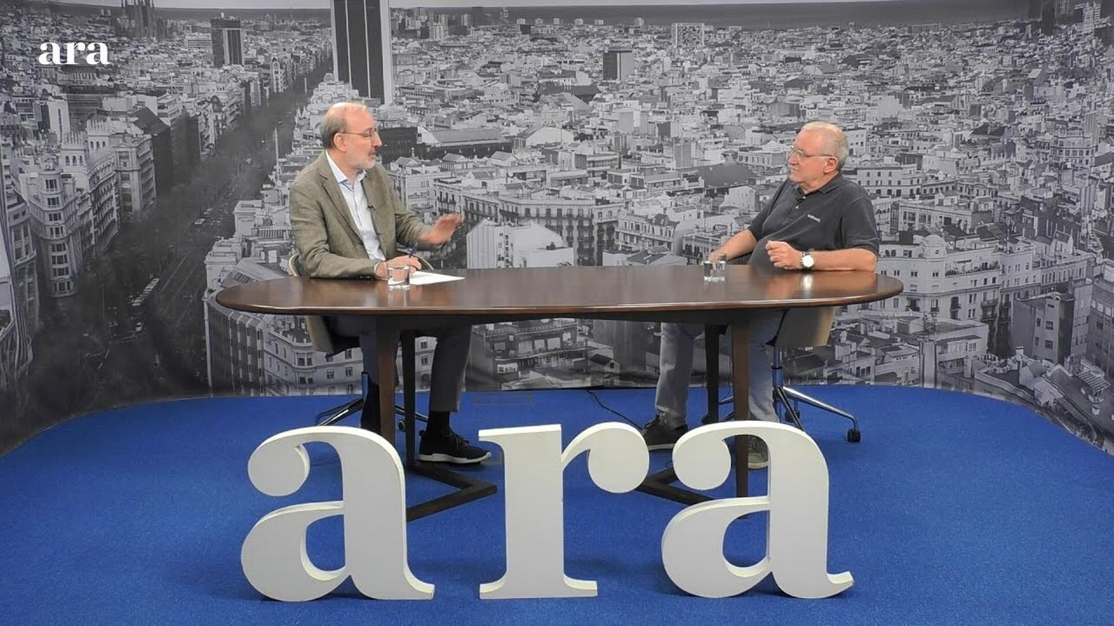Entrevista d'Antoni Bassas al doctor Josep Maria Via