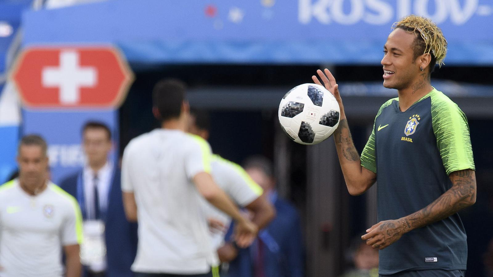 Un Brasil que torna a il·lusionar la seva afició