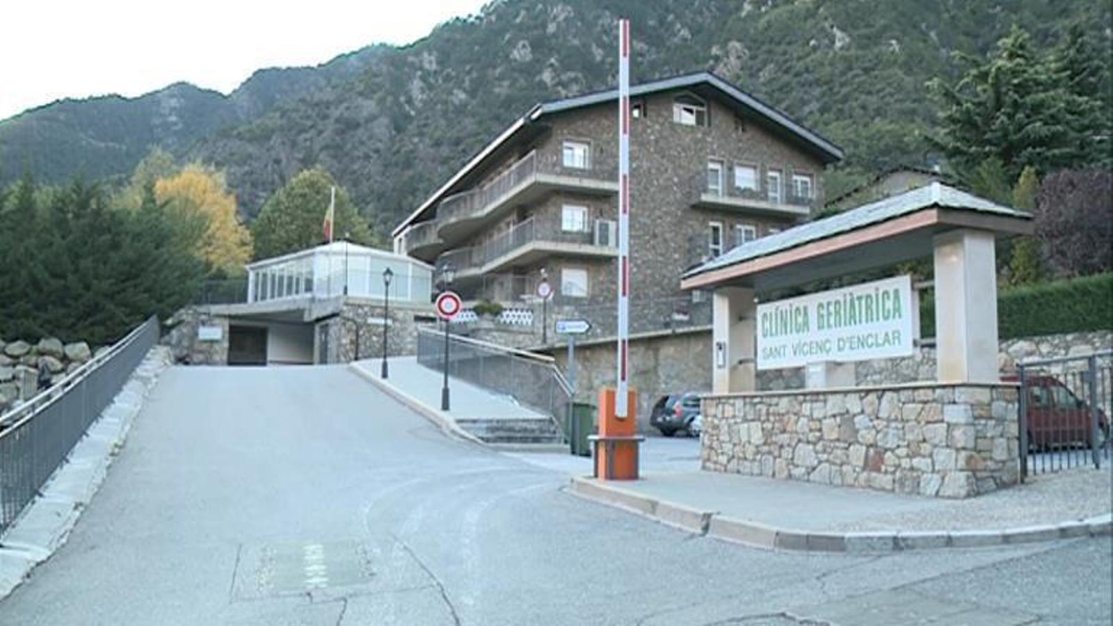 La clínica geriàtrica Sant Vicenç d'Enclar.