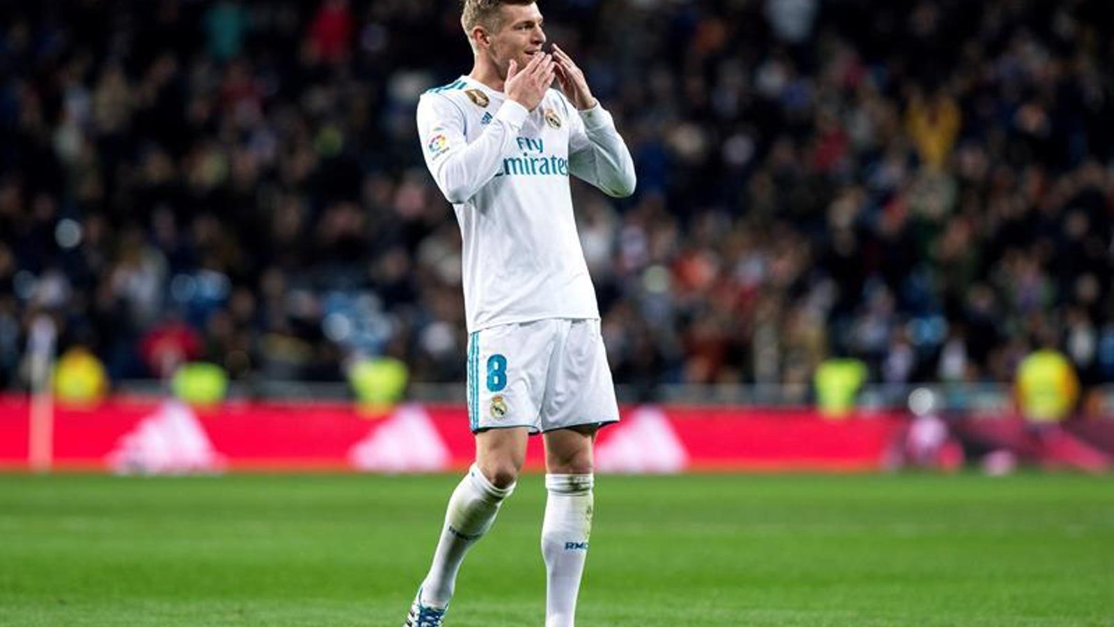 El Madrid perd per als propers partits a Tony Kroos