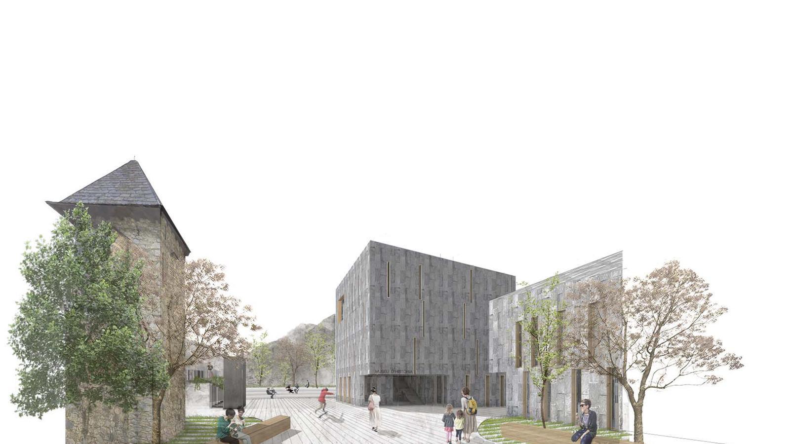Imatge digital del projecte Àgora.