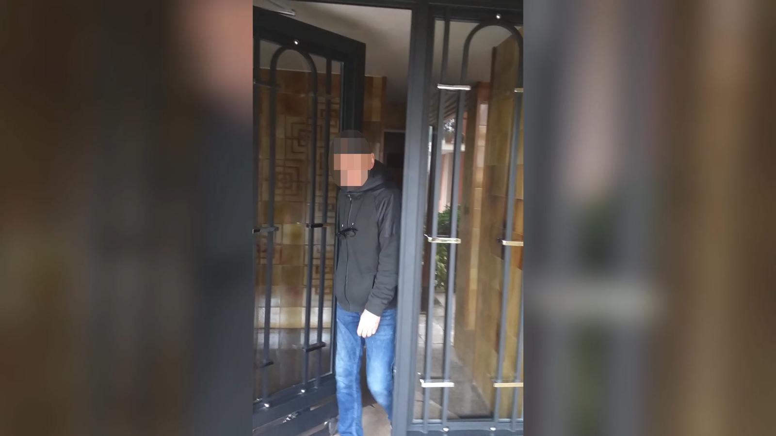 Vídeo robatori domicili Francesc Alegre