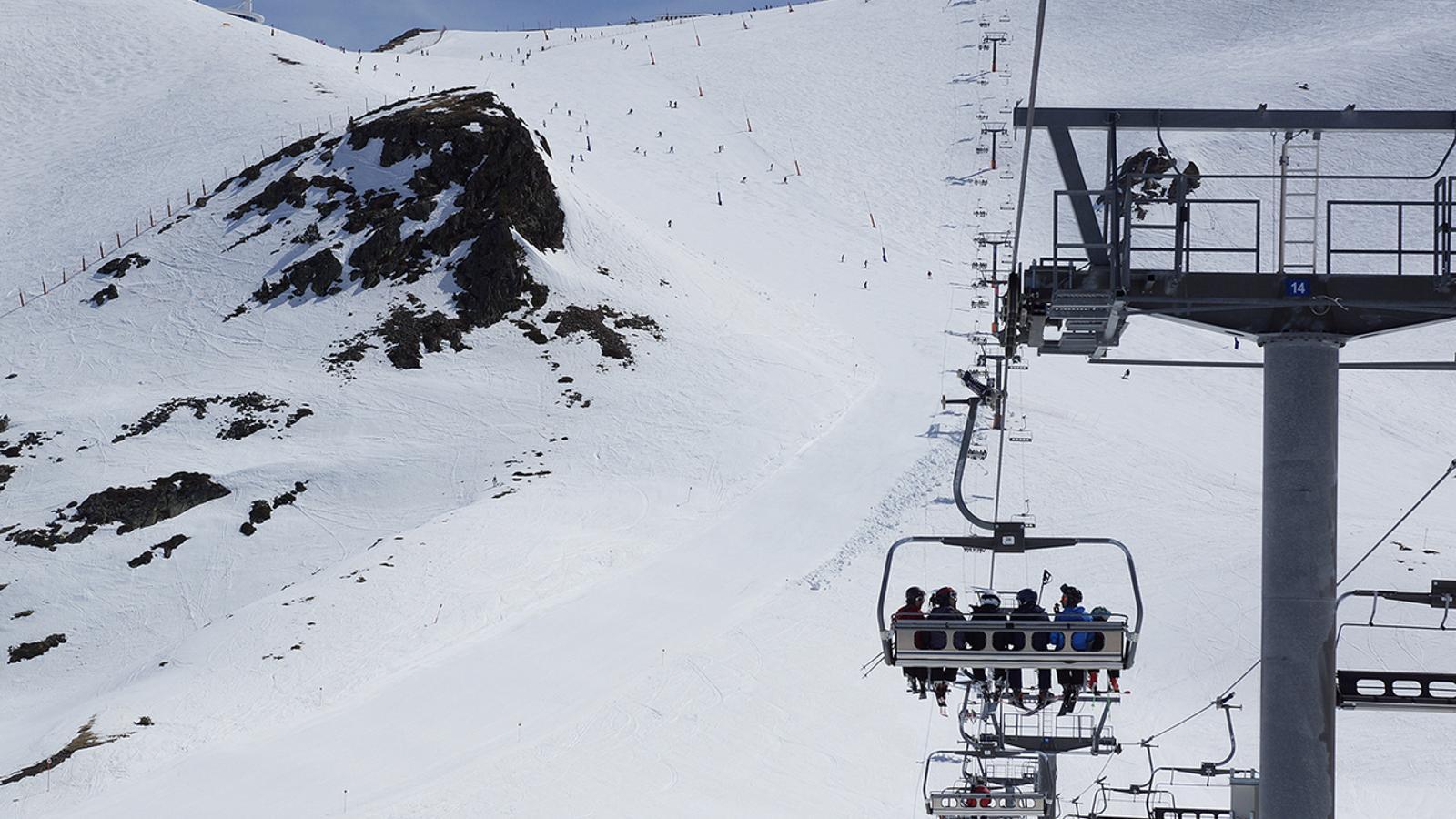Esquiadors a Grandvalira. / ARXIU