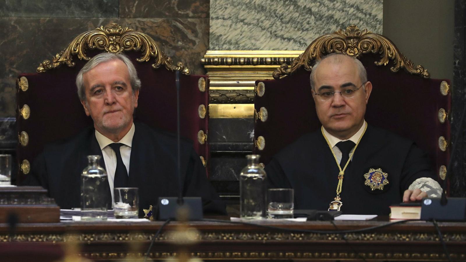 Imatge d'arxiu del jutge del Suprem Pablo Llarena.