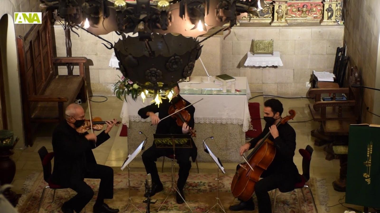 Combinació de clàssics i d'èxits més actuals a l'església parroquial d'Ordino