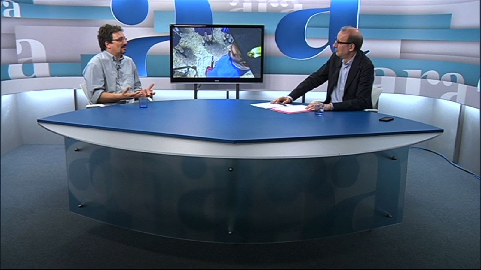 Entrevista d'Antoni Bassas a Albert Sánchez Piñol