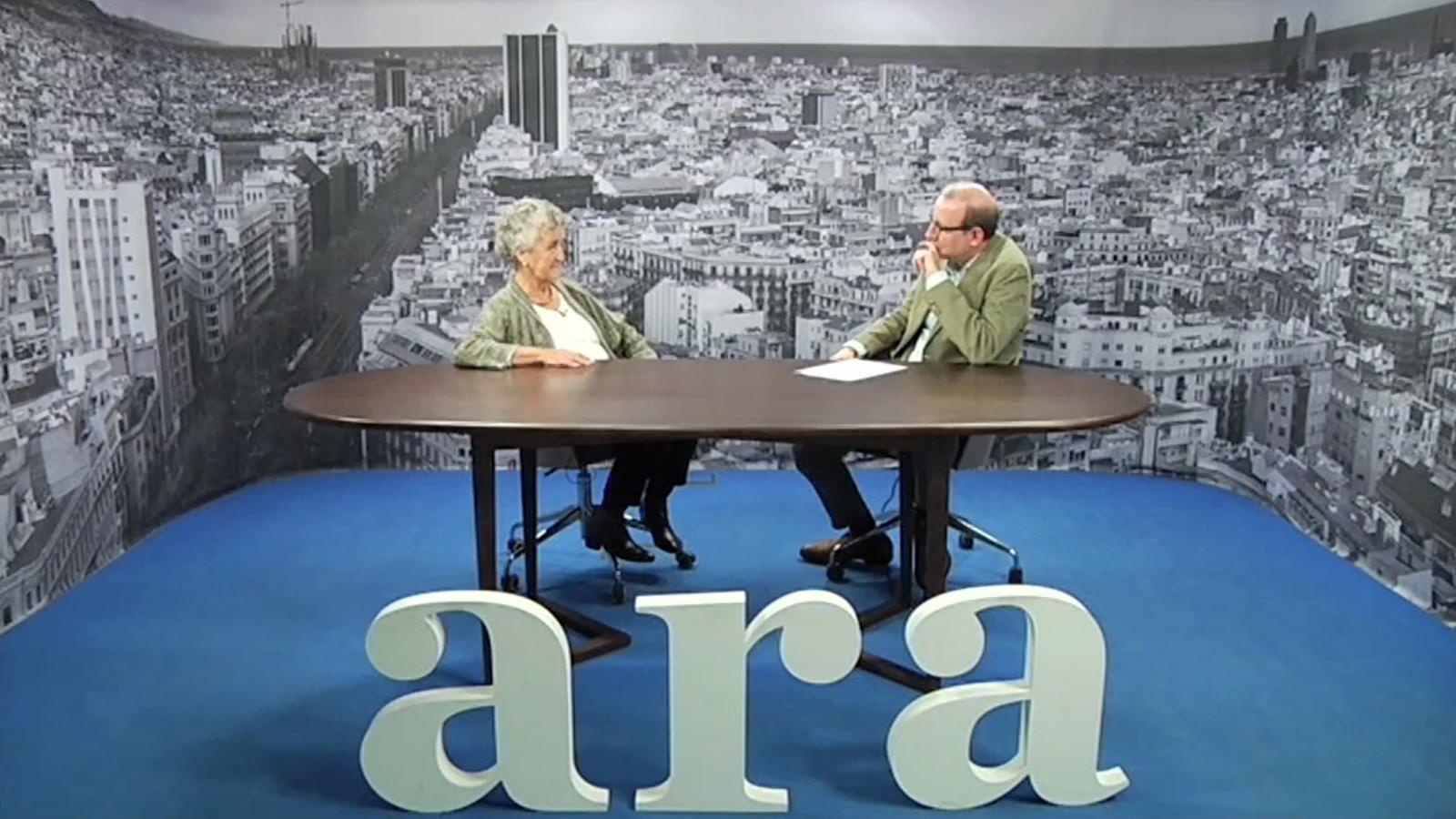 Entrevista d'Antoni Bassas a Roser Capdevila