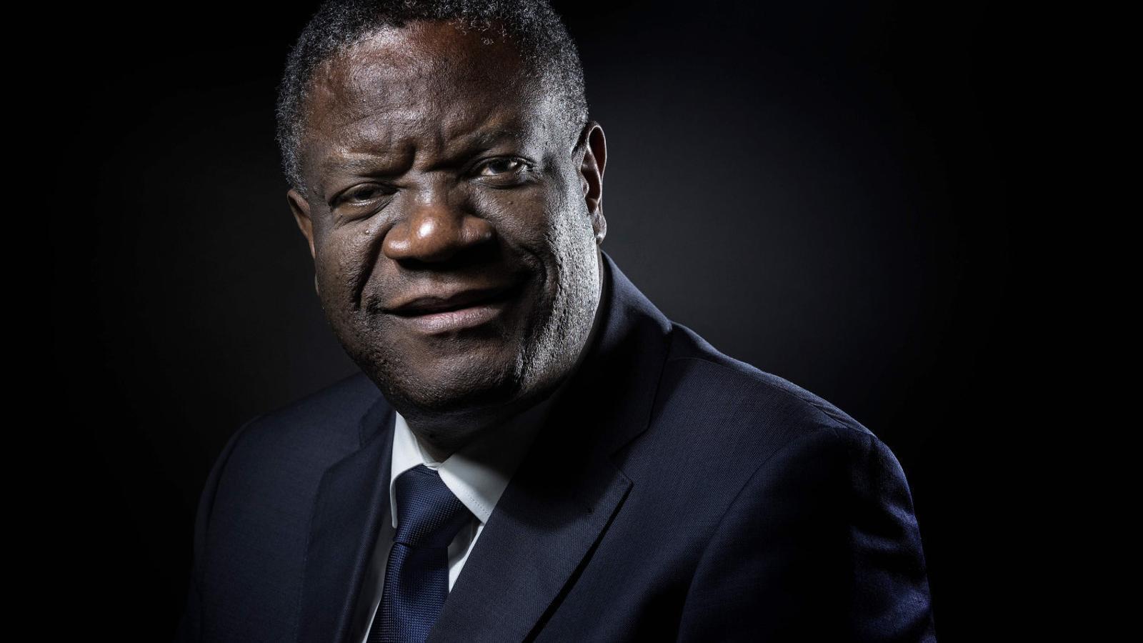 """Denis Mukwege: """"Cada cop que violen una dona és com si violessin la meva família"""""""