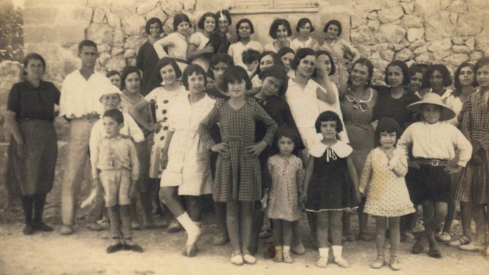 Les collidores d'oliva del 1932 de Calvià
