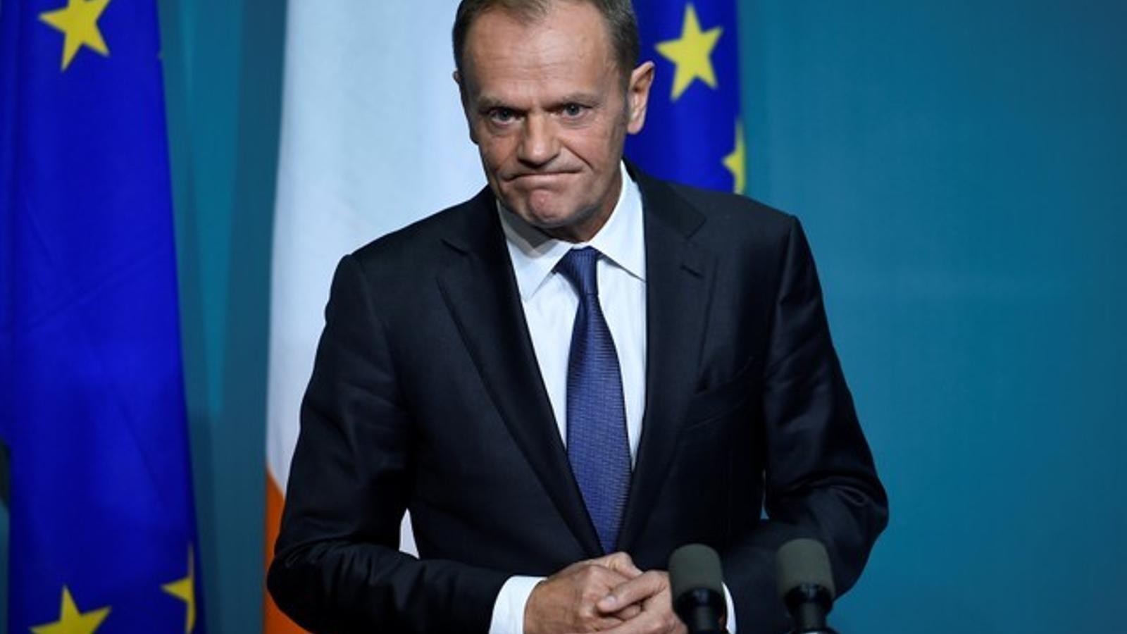 """Tusk demana als socis europeus """"unitat"""" davant les reformes econòmiques i d'immigració"""