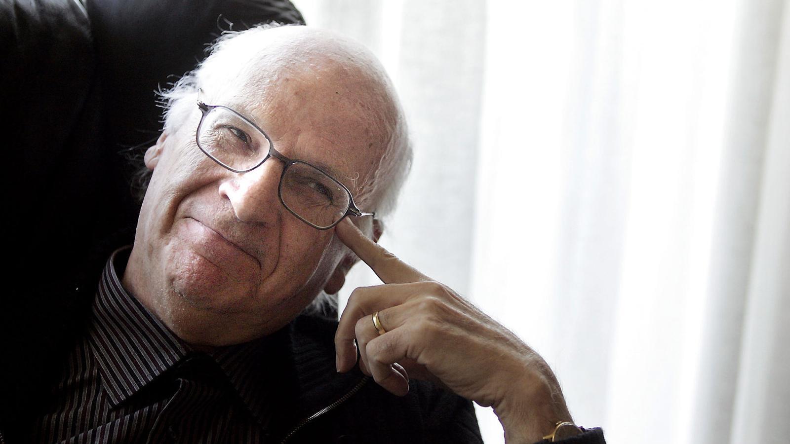 El compositor Xavier Benguerel, en una imatge del 2007. / FRANCESC MELCION