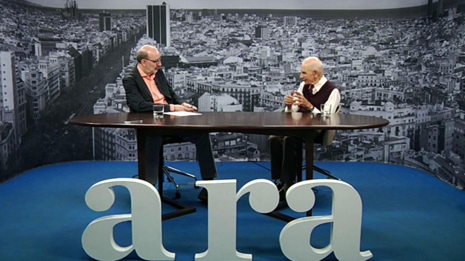 Entrevista d'Antoni Bassas a Pere Balsells