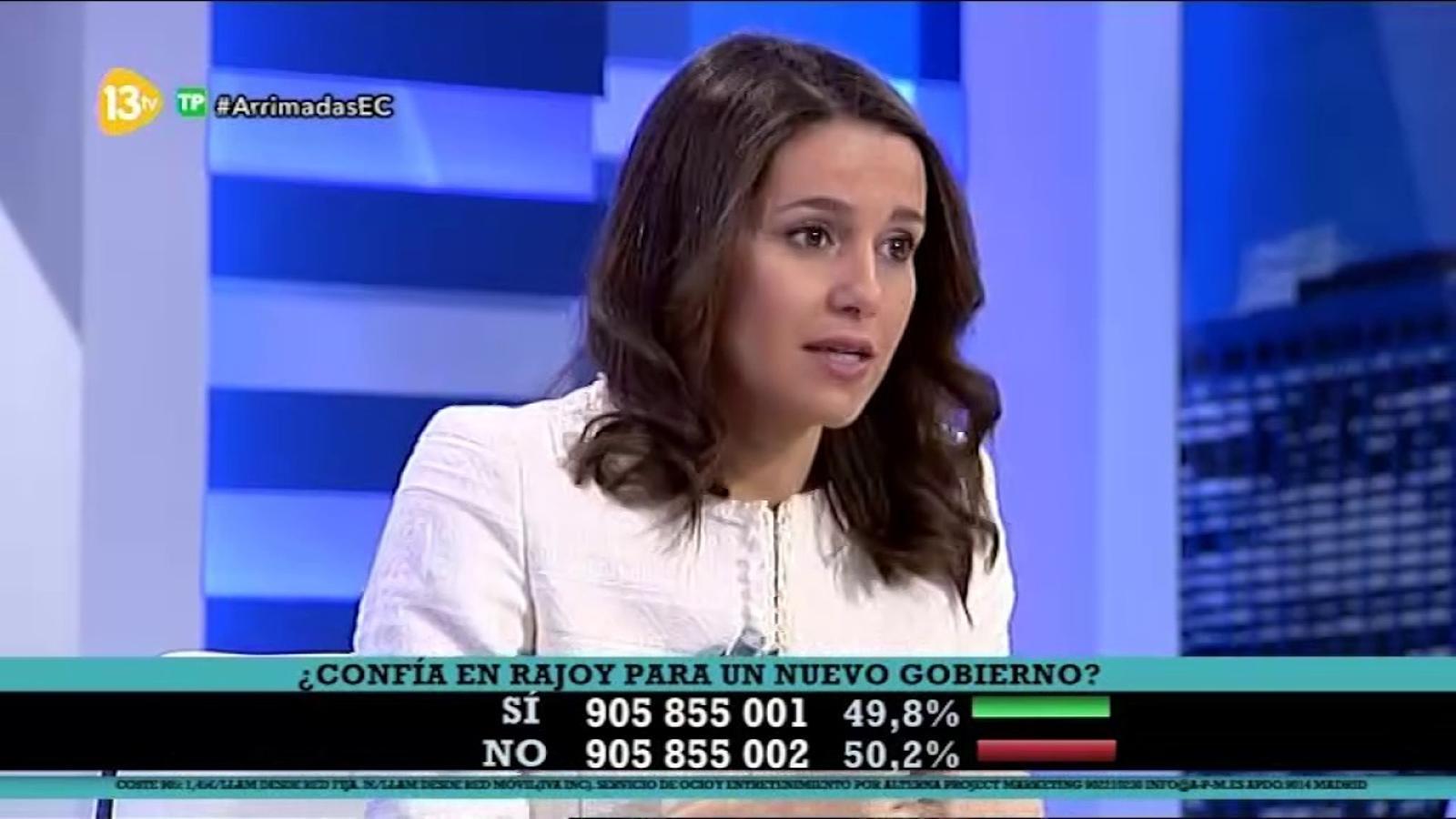 Entrevista d'Inés Arrimadas a 13TV (26/10/2016)