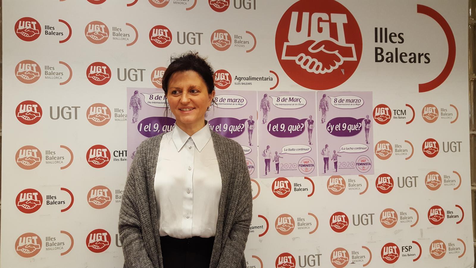 Xisca Garí, secretària de polítiques socials i d'igualtat d'UGT