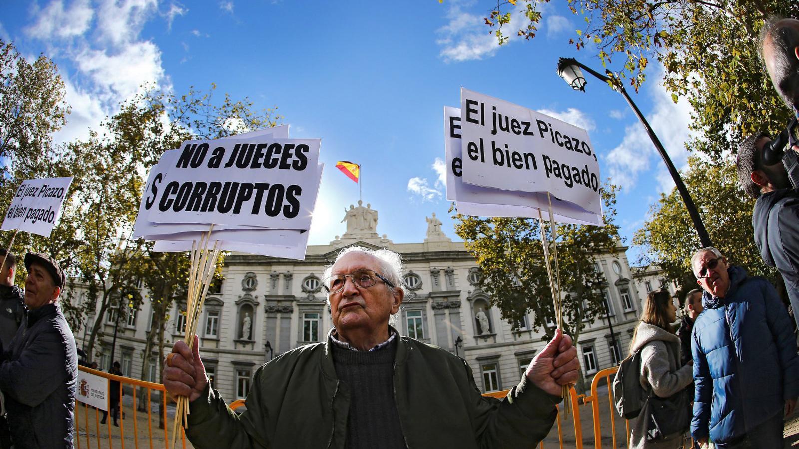 L'espectacle de la justícia espanyola