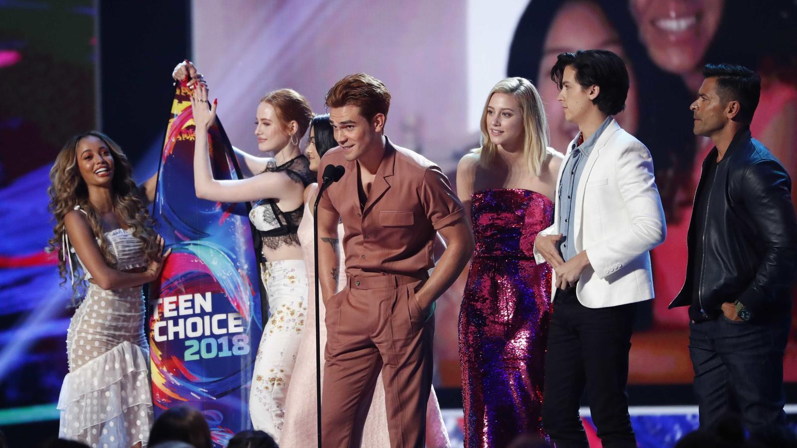 Els Teen Choice Awards coronen 'Riverdale' com la sèrie preferida dels adolescents