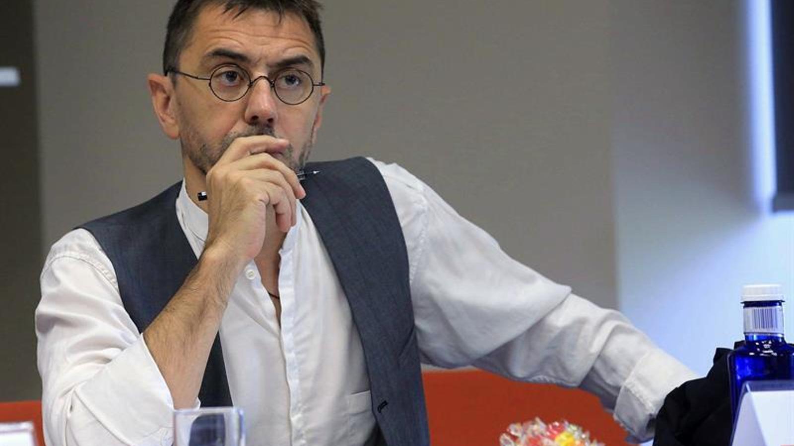 Juan Carlos Monedero al curs d'estiu organitzat per Podemos