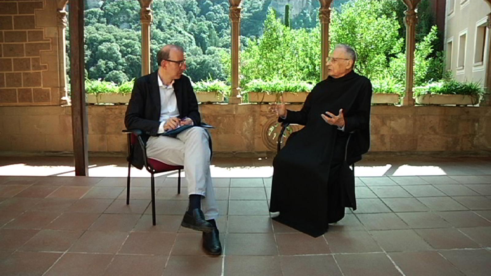 Entrevista d'Antoni Bassas a Hilari Raguer