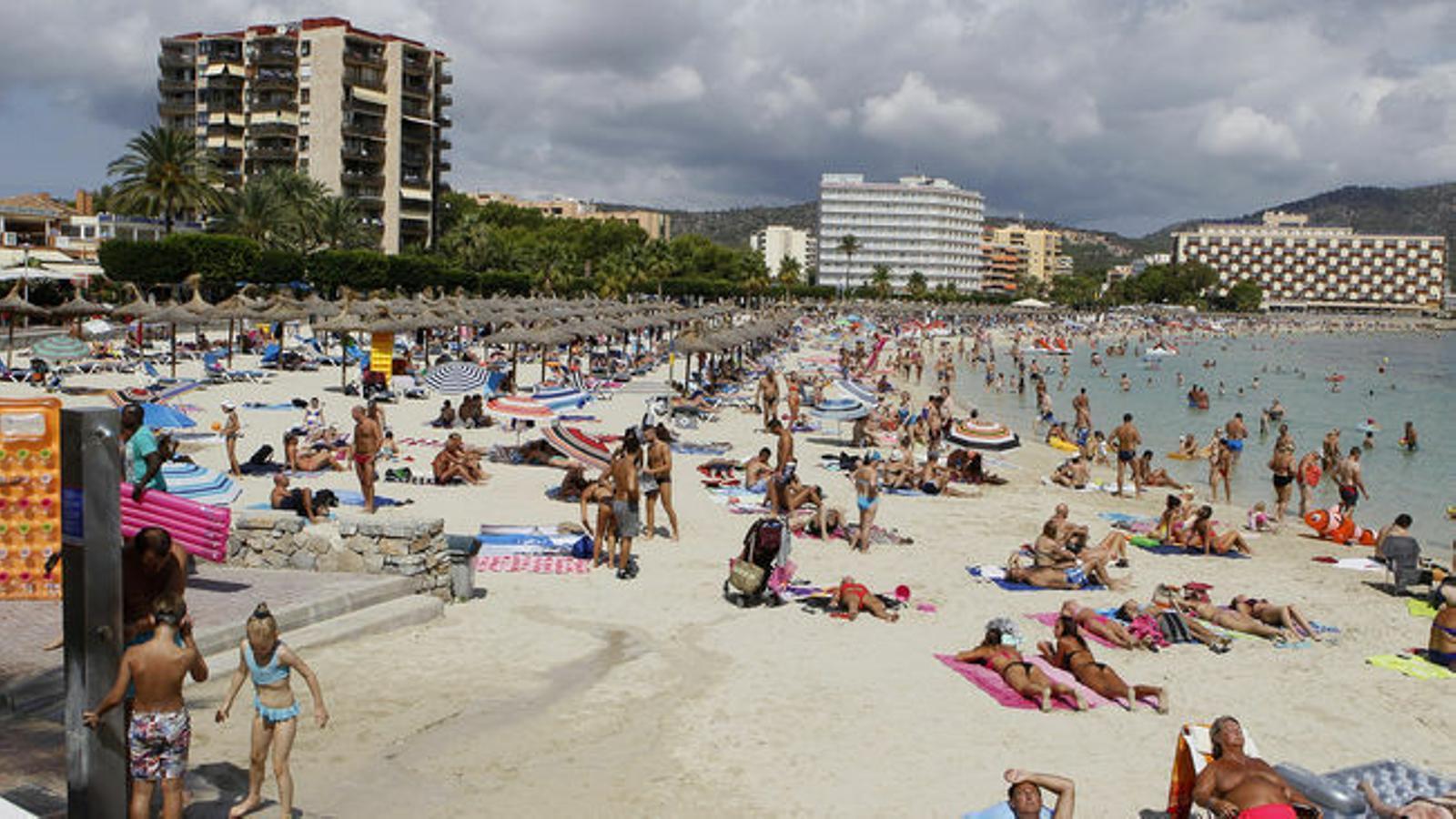 La platja de Palmanova