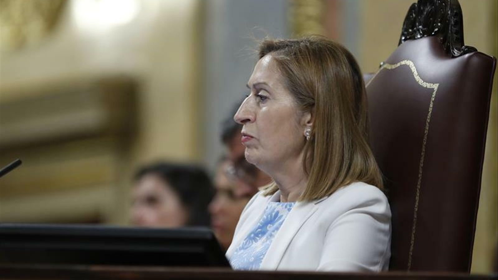 L'expresidenta del Congrés, l'exministra Ana Pastor