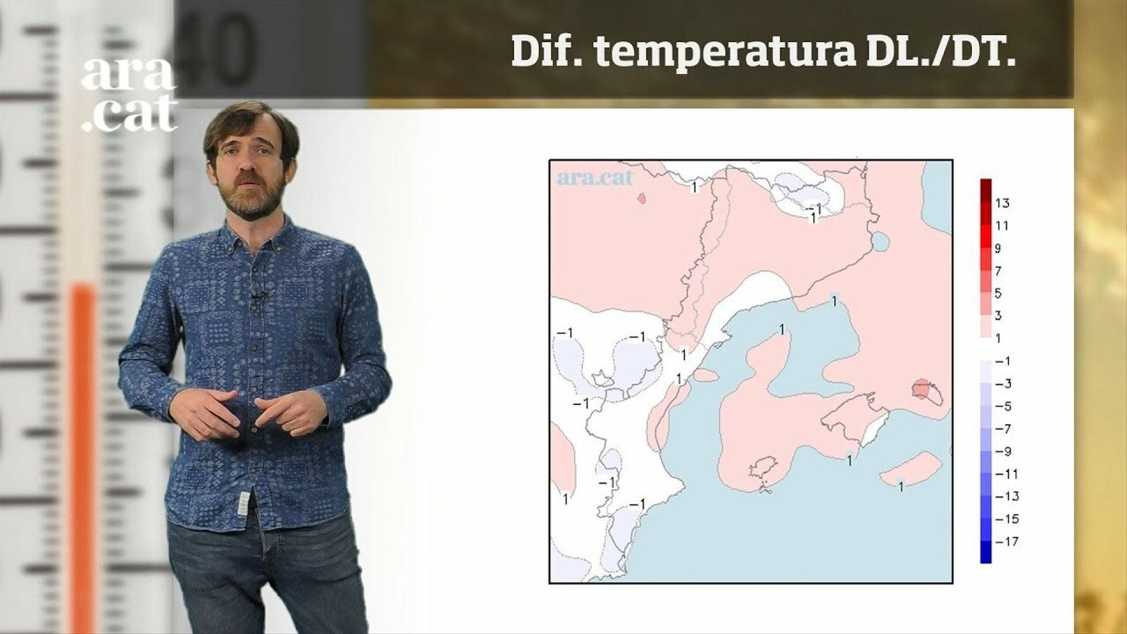 La méteo en 1 minut: la calor treurà el nas en una setmana amb xàfecs més puntuals