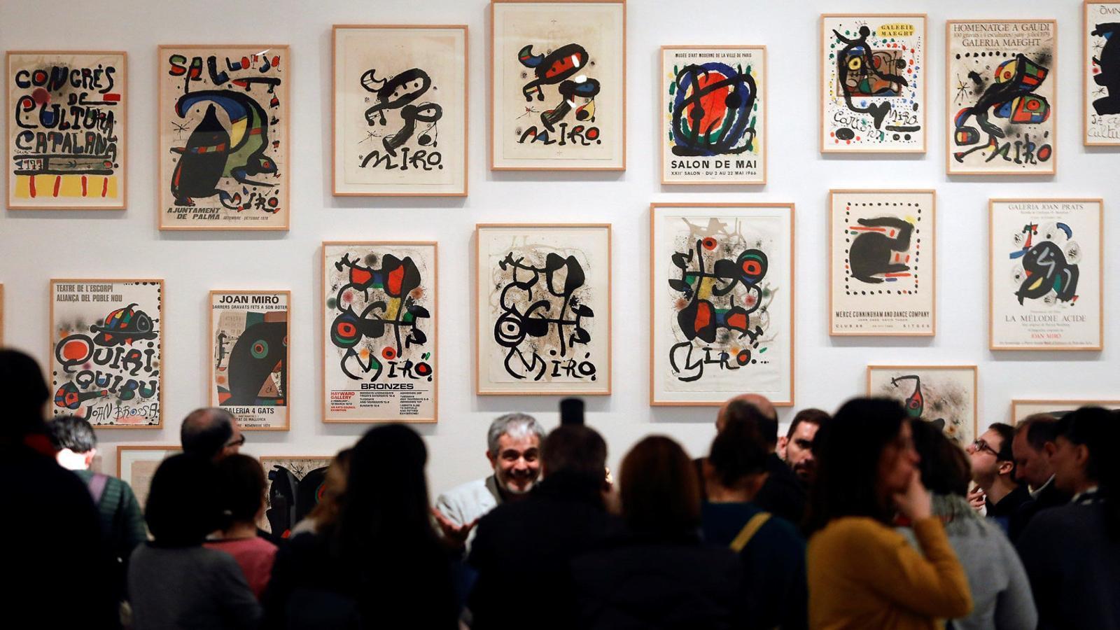"""El Joan Miró """"més radical"""" desafia el públic de l'IVAM"""