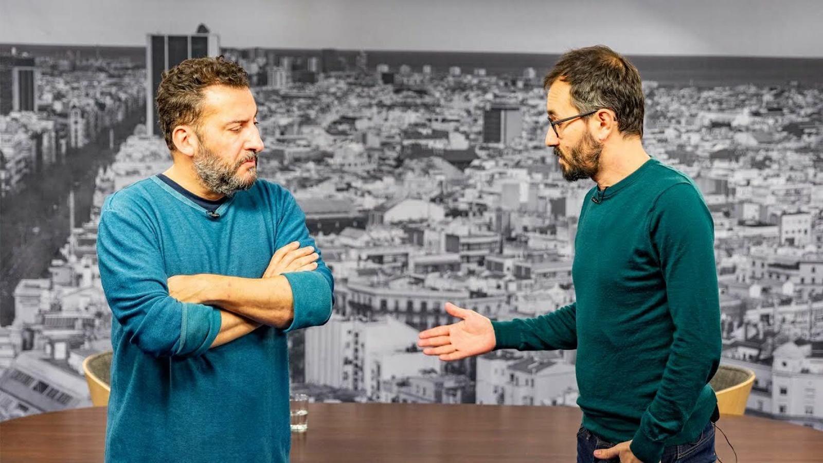 Toni Soler entrevista a Jair Domínguez