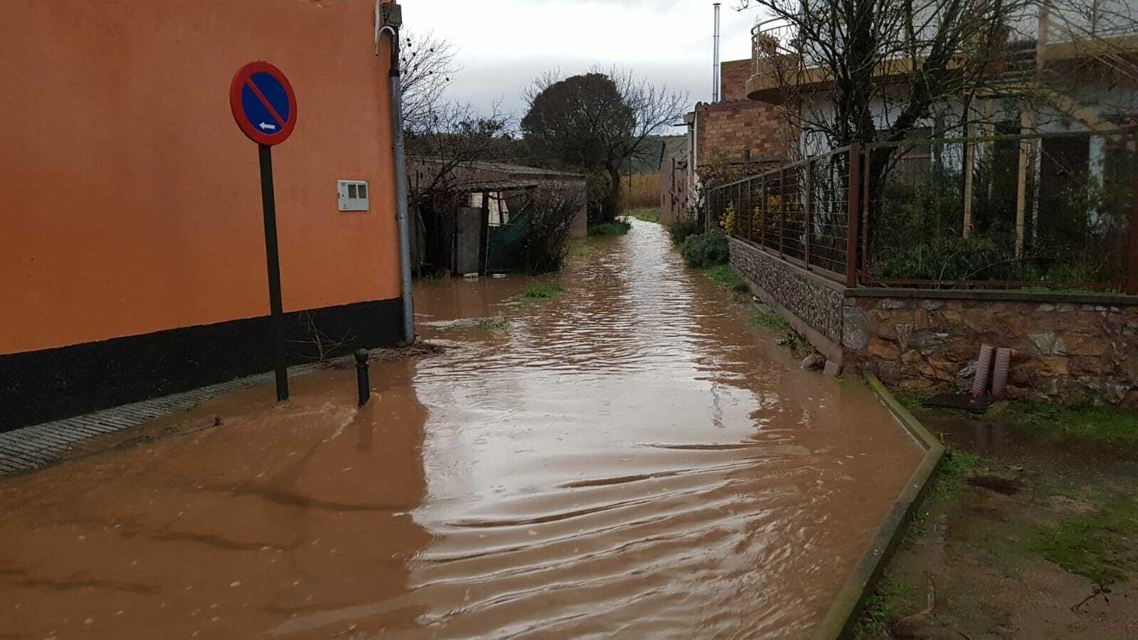 Inundacions a la zona de Bescanó