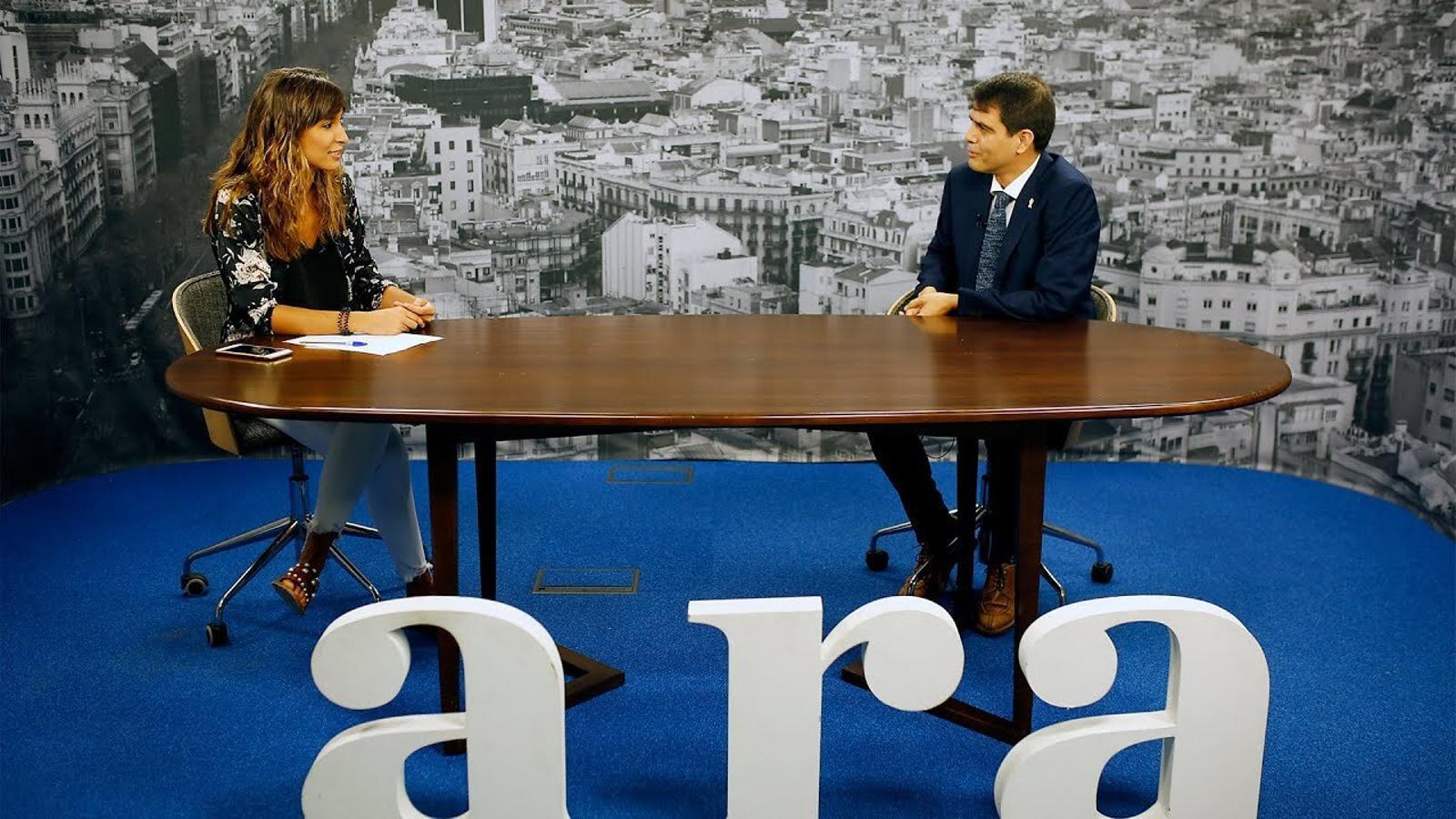 Entrevista de Núria Orriols a Marc Castells