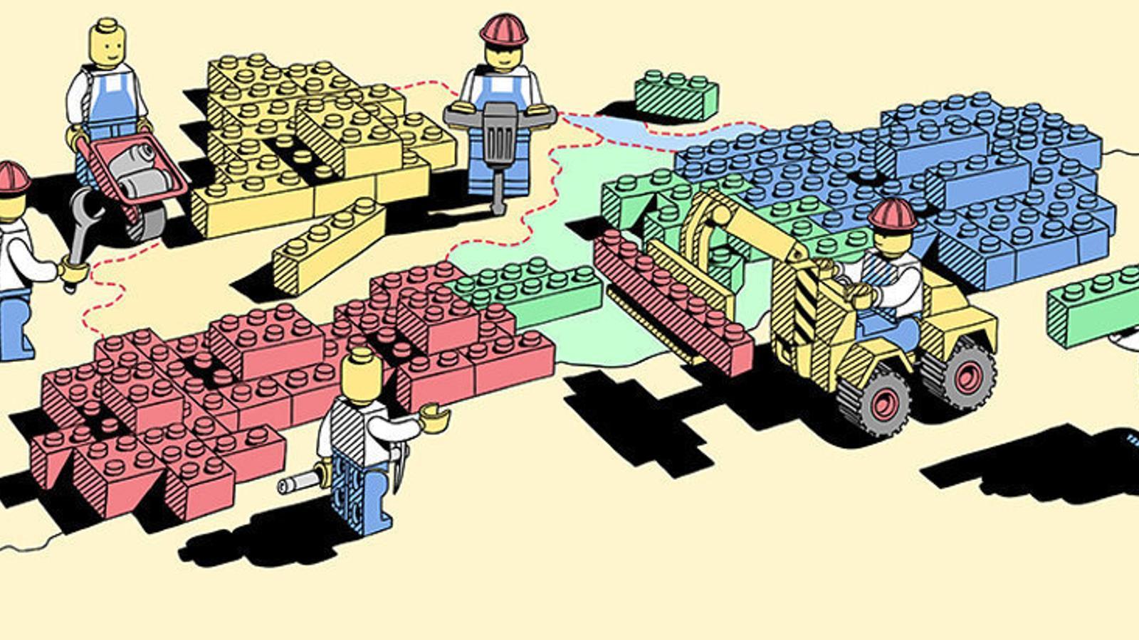 A 2.135 quilòmetres  de Dinamarca  Lego, la focalització  en el negoci per sobreviure