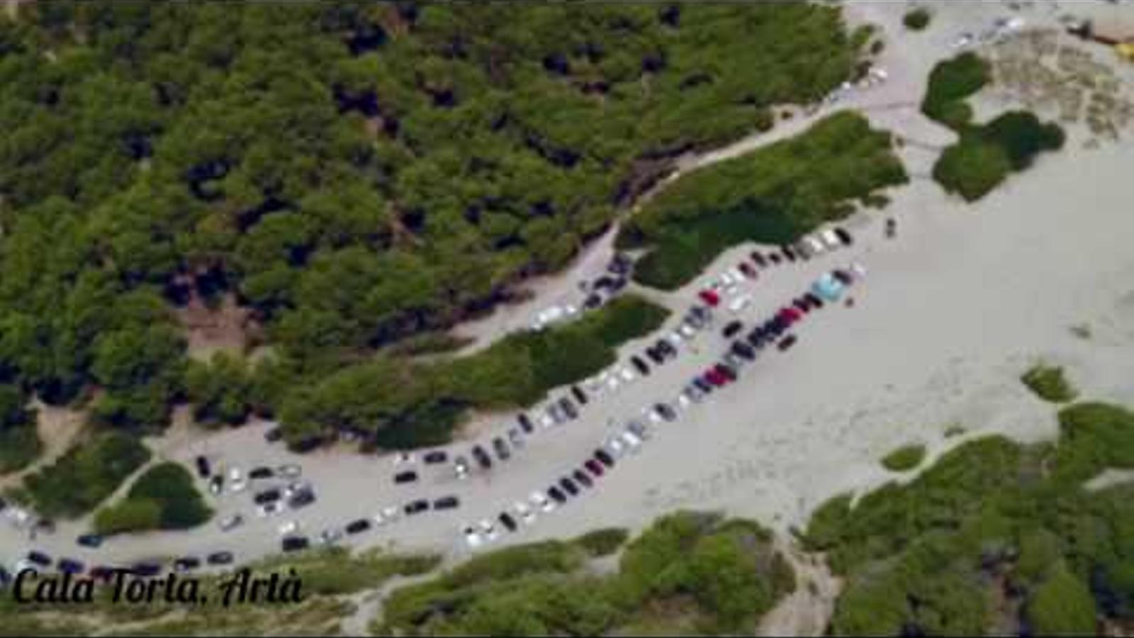 Artà talla l'accés de vehicles al sistema dunar de Cala Torta