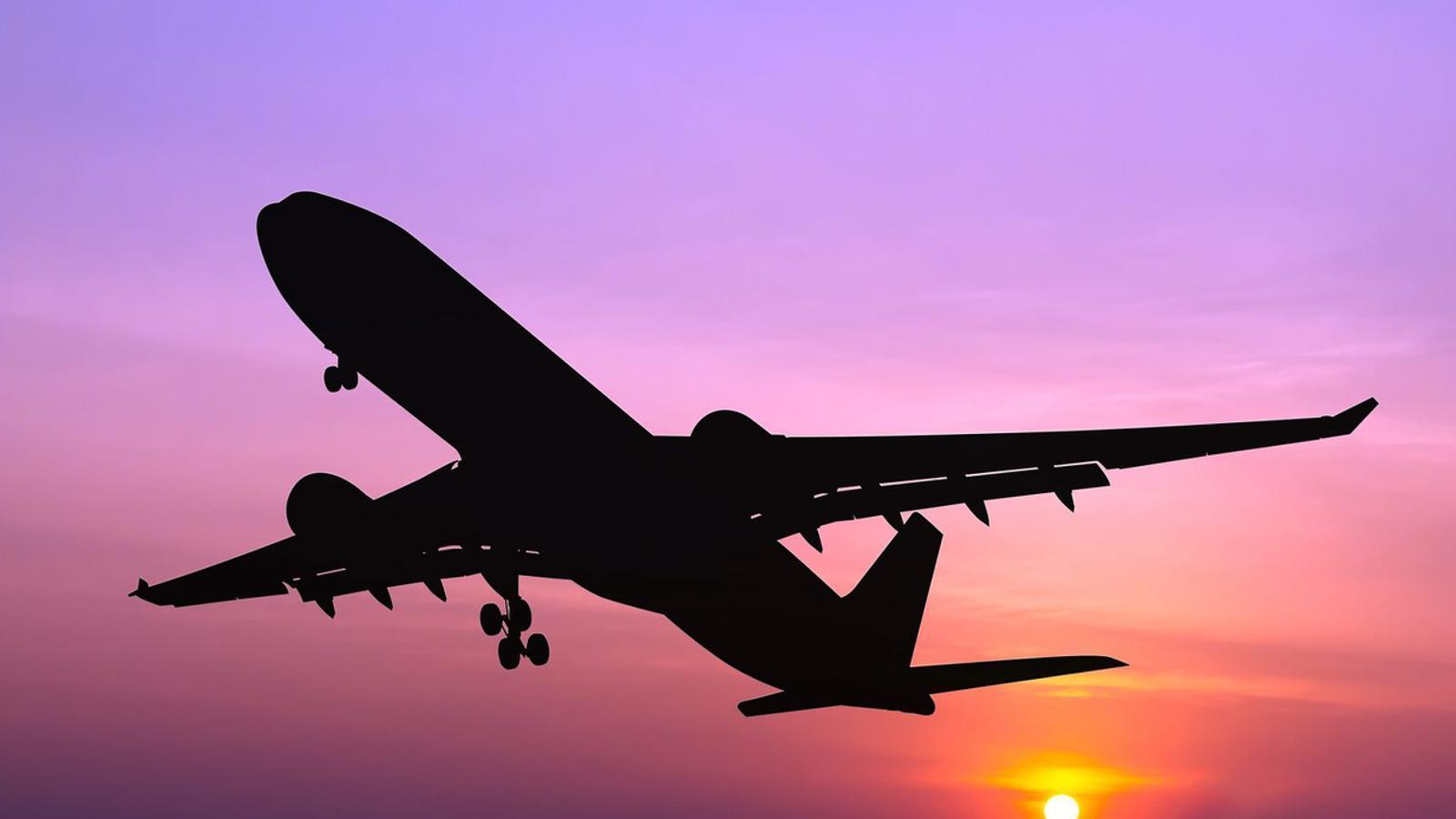 Els avions contribueixen al canvi climàtic